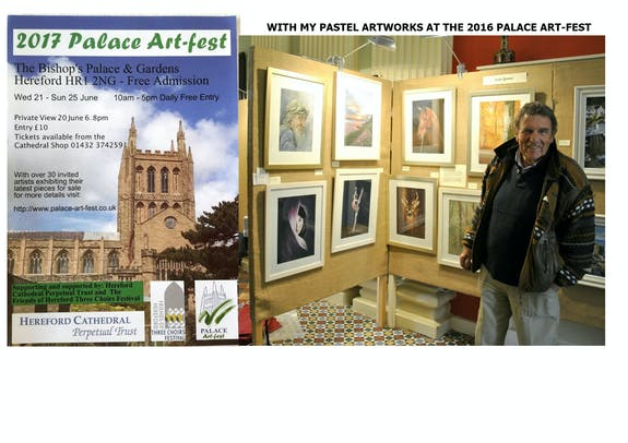 Palace Art-fest, Bishops Palace, Hereford, England
