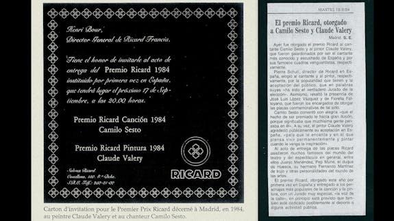 El premio Ricard a la creatividad