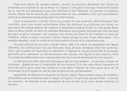 Avant-propos du livre monographique de Claude Valéry