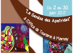 Exposition de ma collection 2017'La Genèse des Apatrides', Marnay, France;