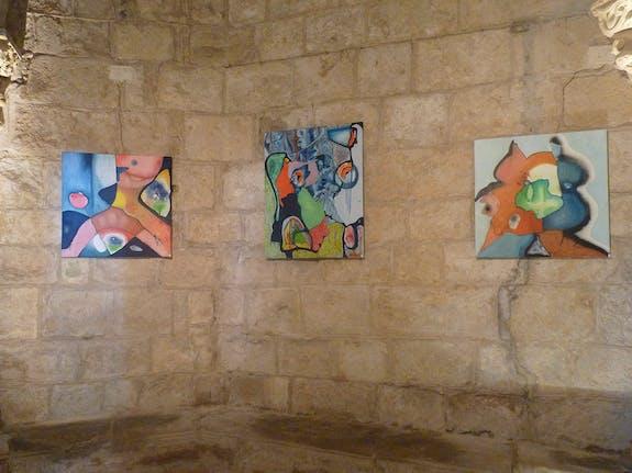 Exposition à la crypte de Saint-Girons
