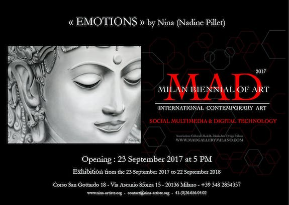 Opening of the exhibition «Emotions» by Nina