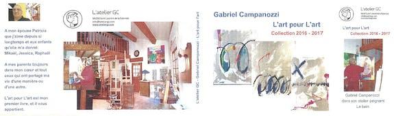 L'art pour l'art - Collection 2017 - livre d'art de Gabriel Campanozzi