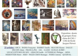 20 Ème Salon International Arts Mony Pezenas