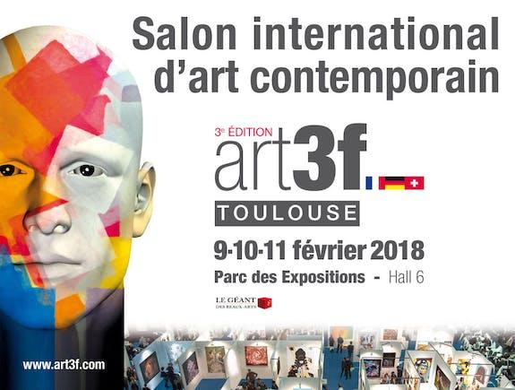 Salon d'art contemporain de Toulouse Art3F