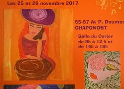 Exposition solo de mes oeuvres