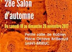 28 Eme Salon d'automne à St Brieuc
