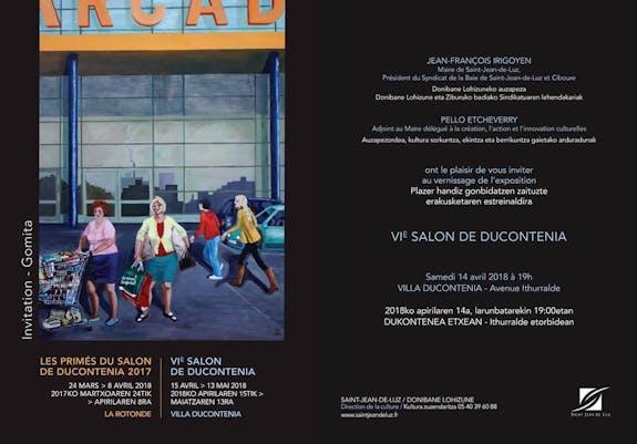 VIeme salon de ducontenia exposition concours avril mai 2018