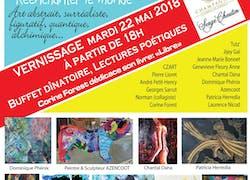 Invitation 1ère Biennale des «15 des Arts» du 22 au 29 Mai 2018