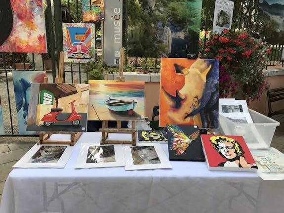 Exposition collective avec les peintres Cassidains