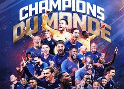 France champion of the world! ★★