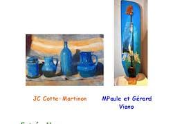 «Du côté de l'intime» exposition j-c Cotte-Martinon & m-p & g Viano