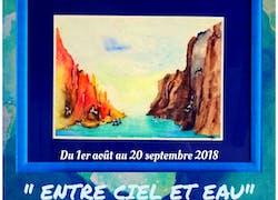 Première Expostion » Entre ciel et eau »