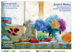 A la «Une» de L'Art de l'Aquarelle