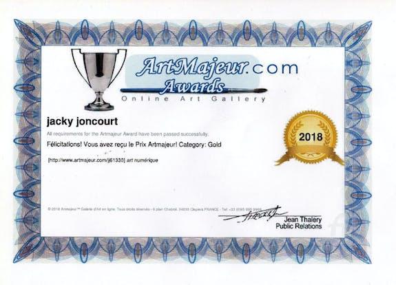 Prix artmajeur 2018 catégories gold