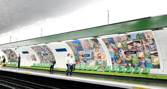 «Expo-Métro» par ArtQuid : 380 artistes + 8 Affiches Géantes à Paris