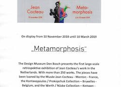 Jean cocteau - «Metamorphosis» - Exhibition