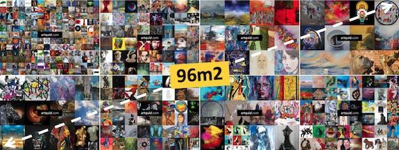 Expo-Métro : 96m2 de surface d'affiches !