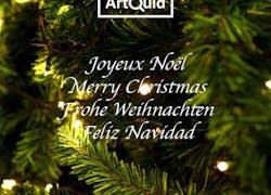 ArtQuid vous souhaite un Joyeux Noël!