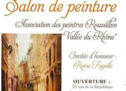 Exposition association des peintres de roussillon
