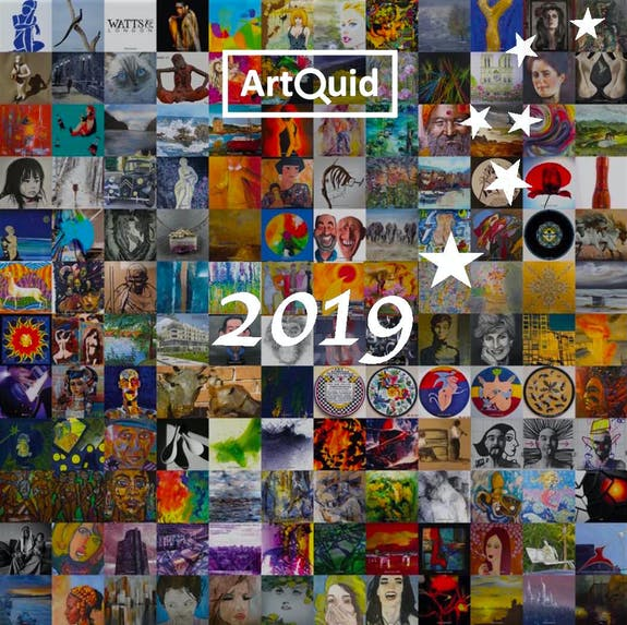ArtQuid wishes you a Happy New Year 2019!