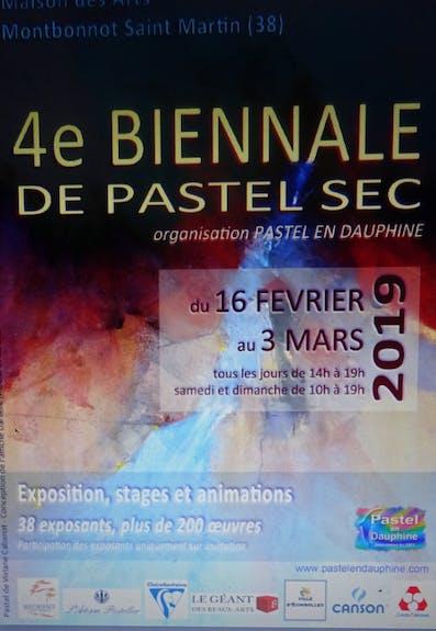 Biennale de pastel en dauphine
