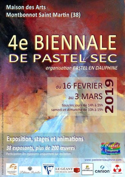 4Ème biennale de pastel sec de Pastel en Dauphiné