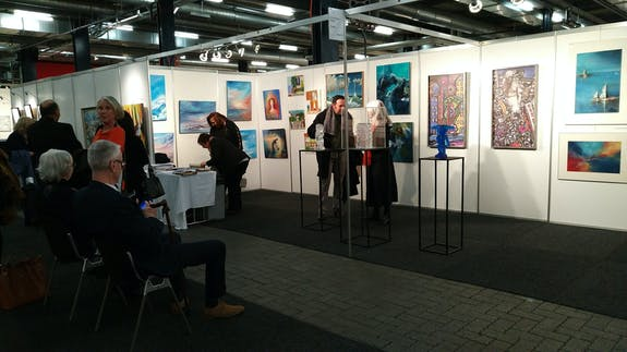 Mon expo de groupe à Montreux les 7-8-9-10-11 Novembre avec «Art & Design»