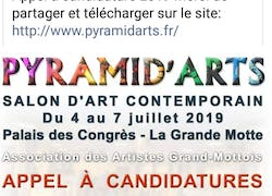 Appel a candidatures Salon d'art contemporain pyramid arts 2019