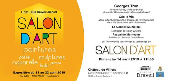 Salon d'Art du lions club de draveil