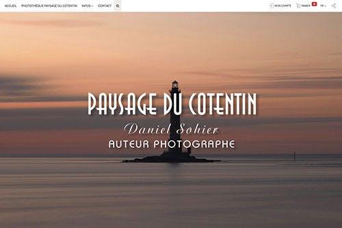 Nouveau site de photographies de paysage dans le Cotentin