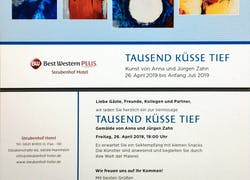 Vernissage im Steubenhofhotel Mannheim am 29. April 2019 19 Uhr