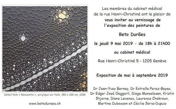 Beto Duraes - Exposition - Cabinet Médical
