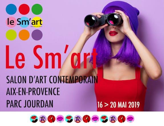 Le Sm'art 2019 - Salon d'Art Contemporain d'Aix-en-Provence