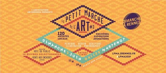 Lpma3 : Le Petit Marché des Arts à Rennes