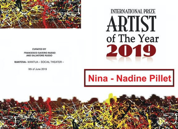 International Prize «artist Of The Year 2019»