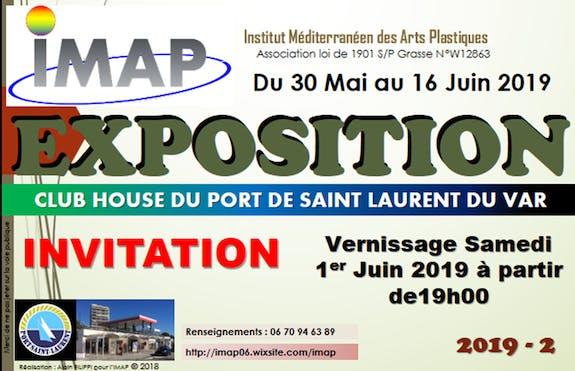 Exposition «C'est le printemps » au port de St Laurent du var (06)