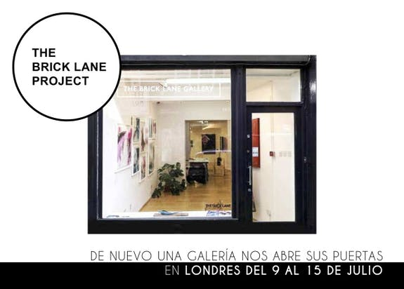 Gaudi art gallery Madrid / The brick lane project 2019 in London