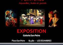 Exposition - Aquarelles, Huiles et Pastels