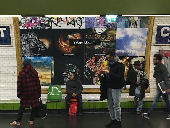 Expo Métro Châtelet
