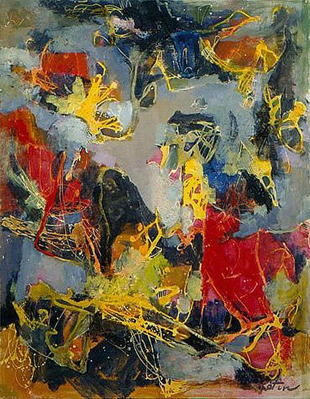 Abstract Expressionism-New York School Artists of the 9th St Show Reminisce. Mov