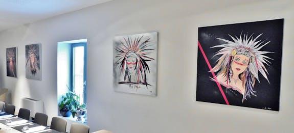 Expositions de peintures