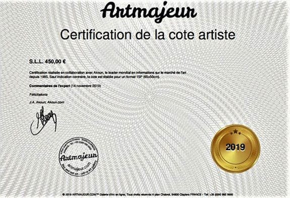 Certification Akoun Novembre 2019
