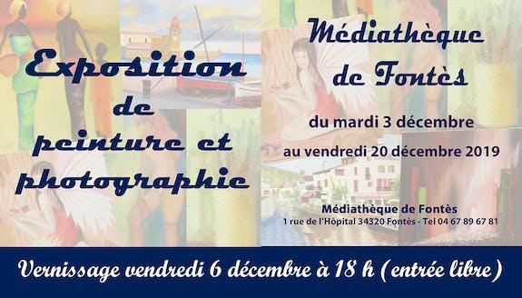 Exposition peinture et photographie