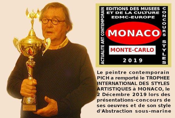 Grands Trophées Internationaux des Styles Artistiques à monaco le 2 /12/ 2019