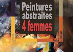Peintures abstraites… 4 Femmes