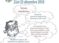 Expo au Marché de Noël à Epervans