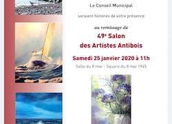 Salon des artistes antibois