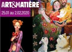 45Ème Salon Art et Matière (25 janvier-2 février 2020).