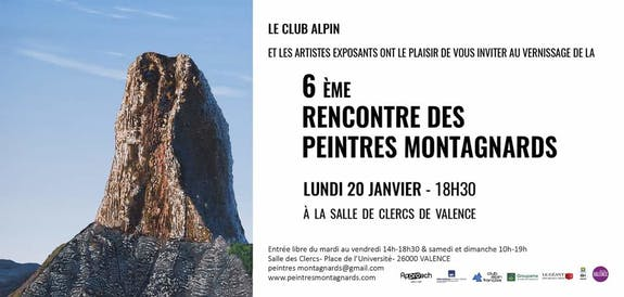Rencontre des Peintres Montagnards à Valence